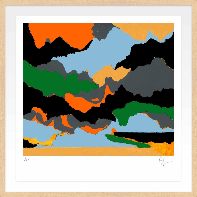 Hang Tough 'Nice Dream' Float Framed in Ayous (Framing Only)
