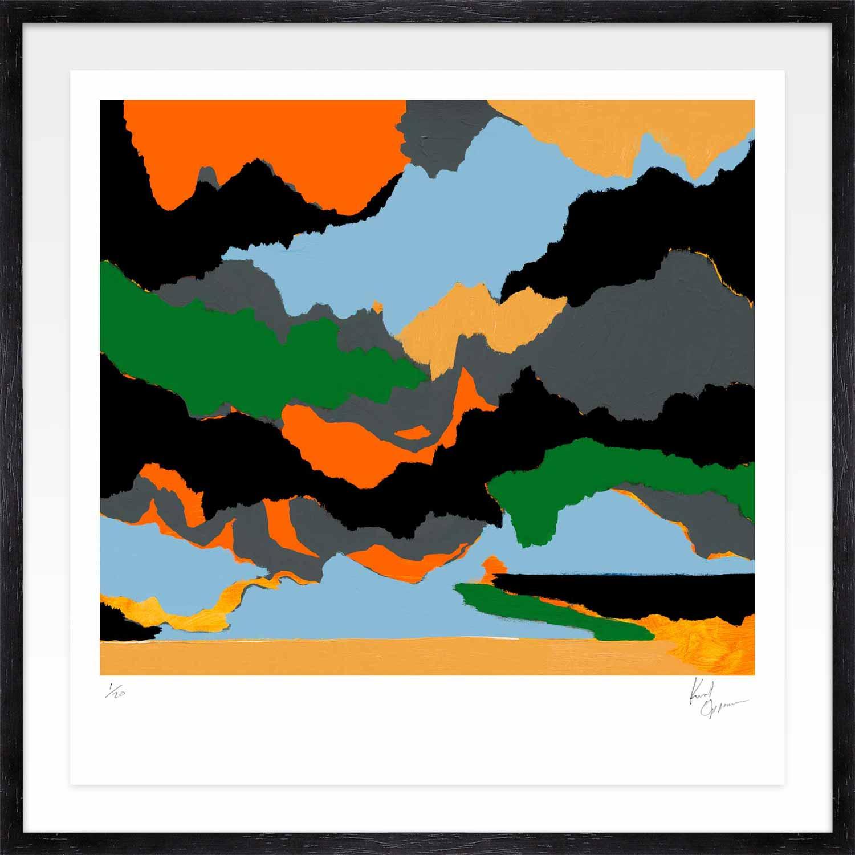 Hang Tough 'Nice Dream' Float Framed in Black (Framing Only)