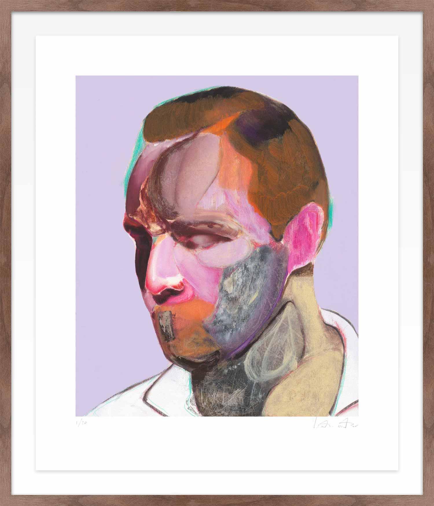 Hang Tough 'Untitled' Float Framed in Walnut (Framing Only)