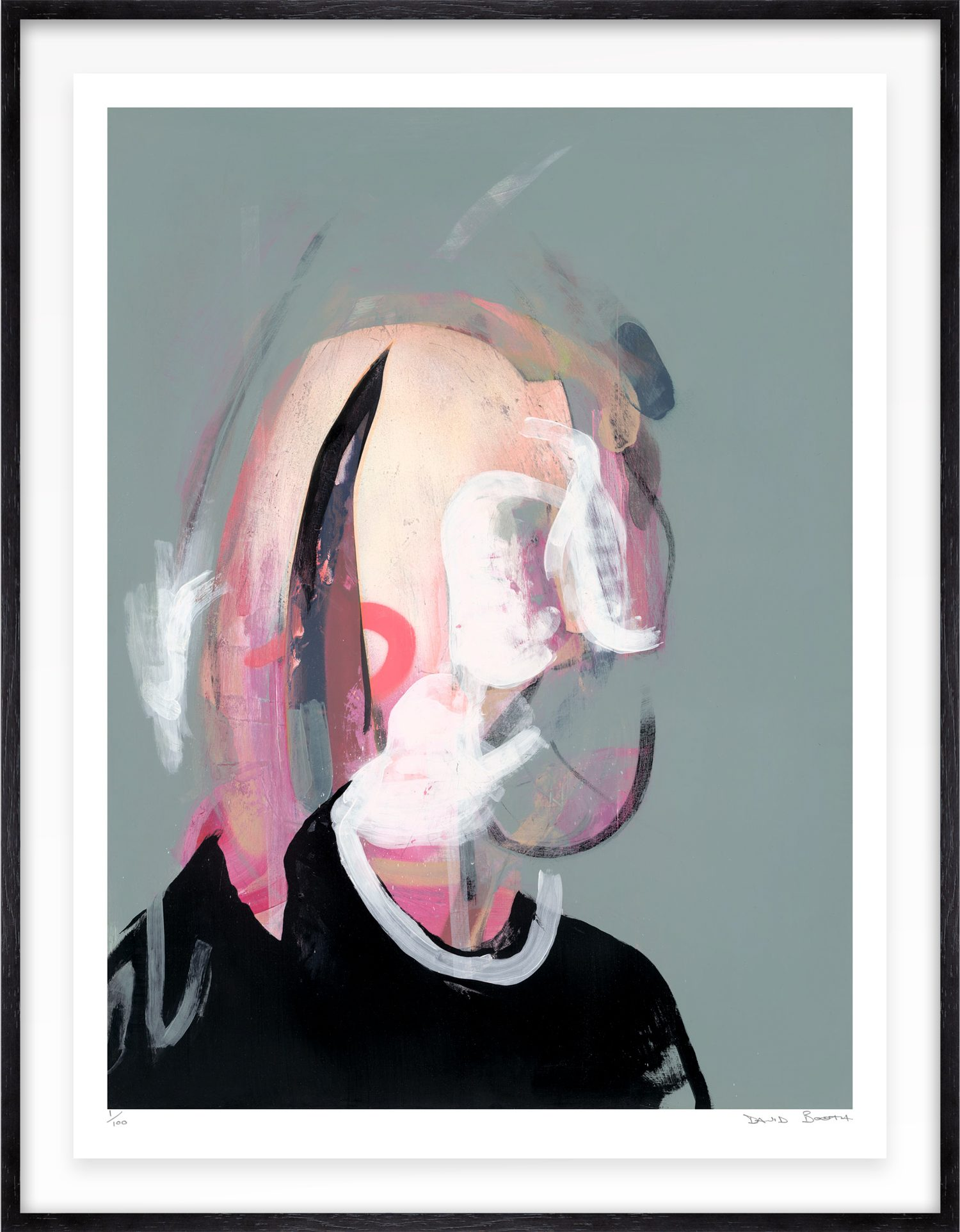 Hang Tough 'Duine' Float Framed in Black (Framing Only)