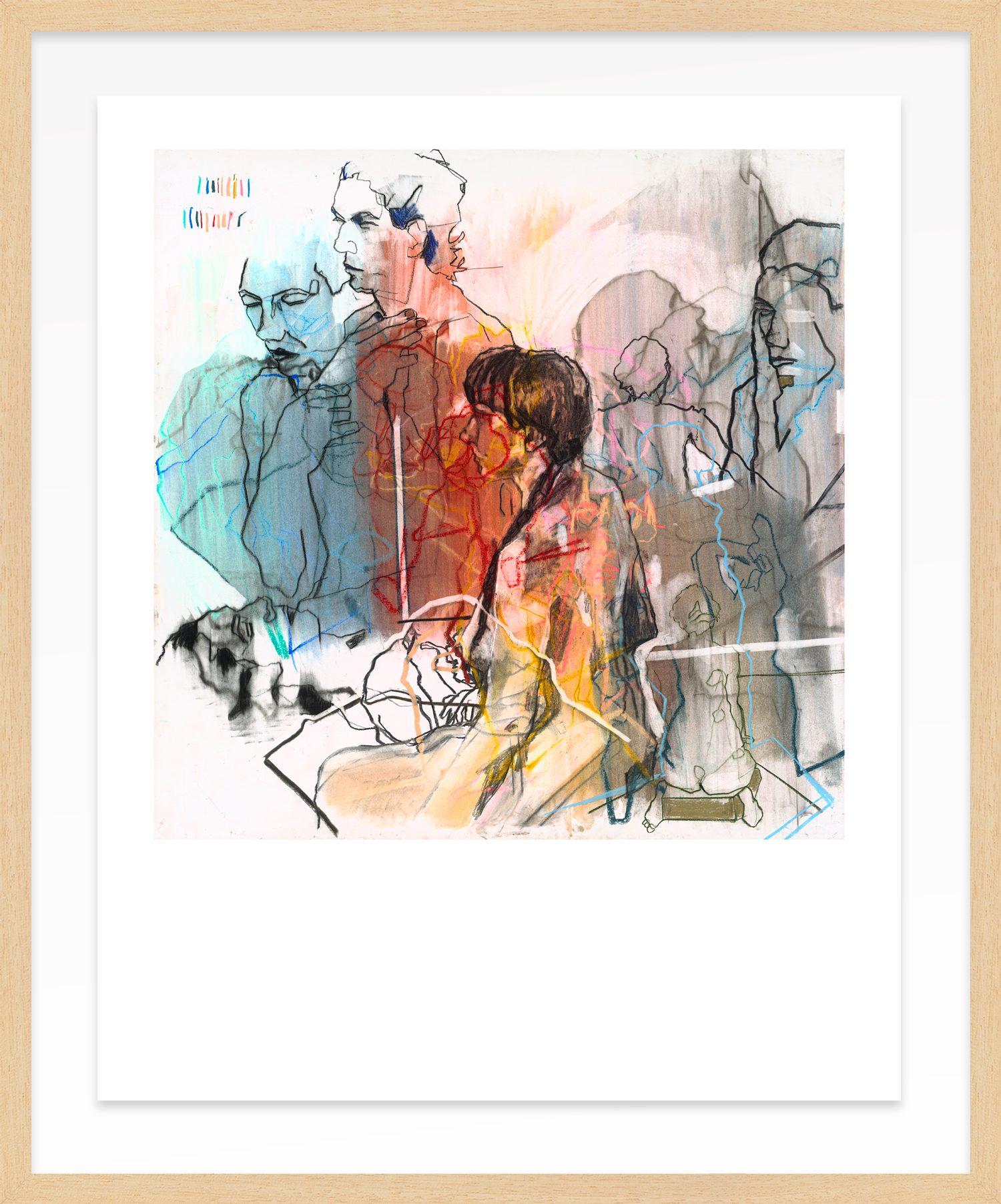Hang Tough Reunion x David Hedderman Float Framed in Ayous (Framing Only)