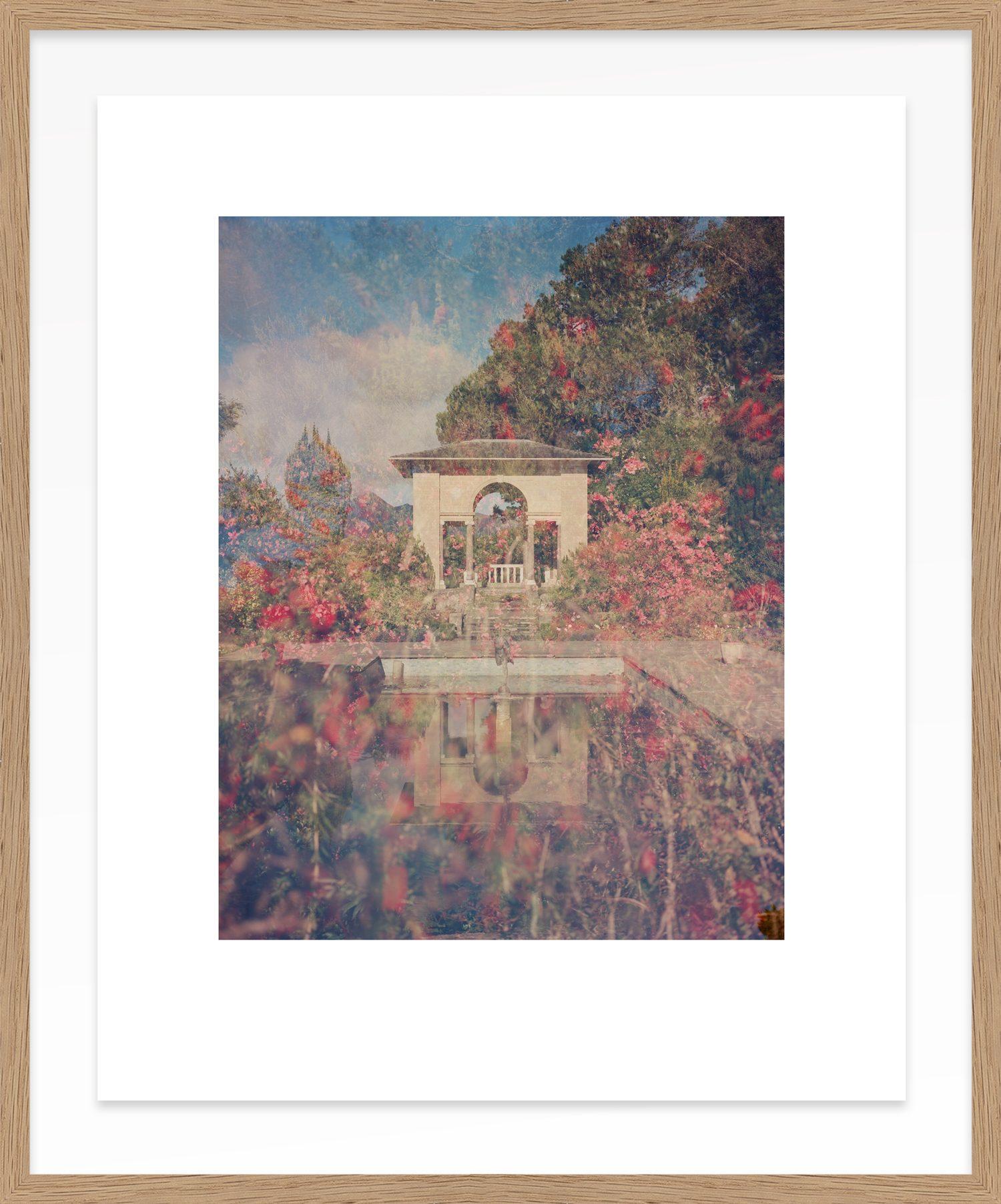 Hang Tough Reunion x Linda Brownlee Float Framed in Oak (Framing Only)