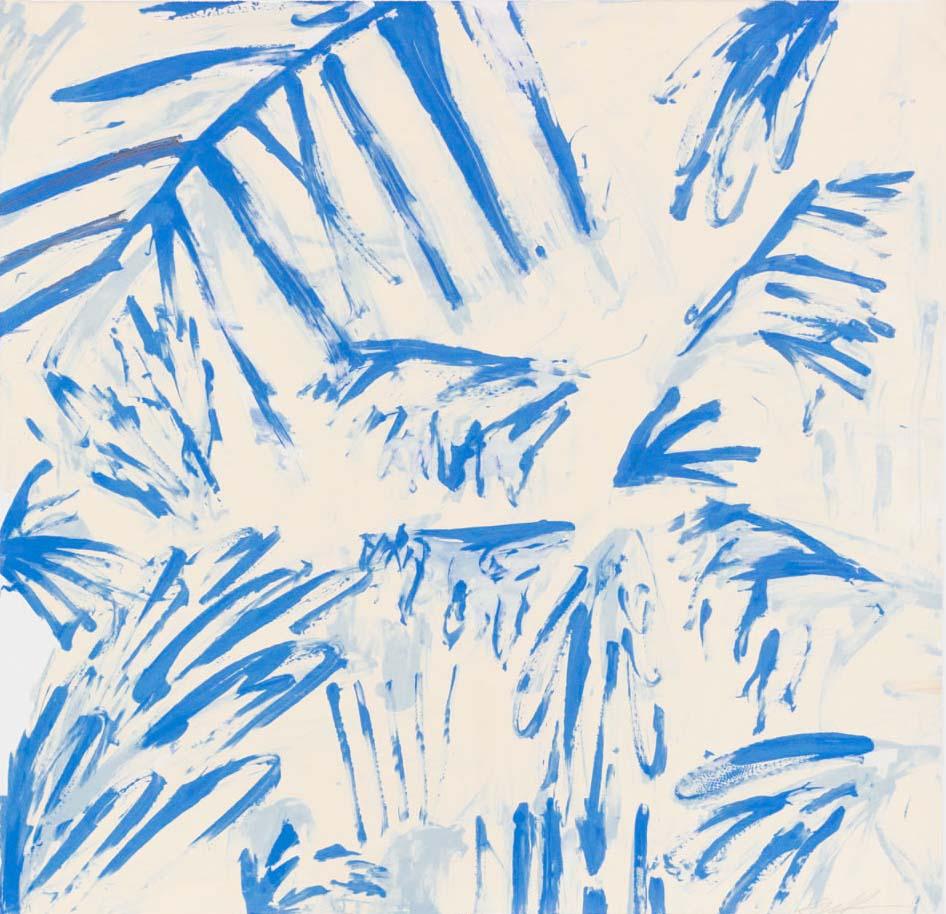 Blue Drips I