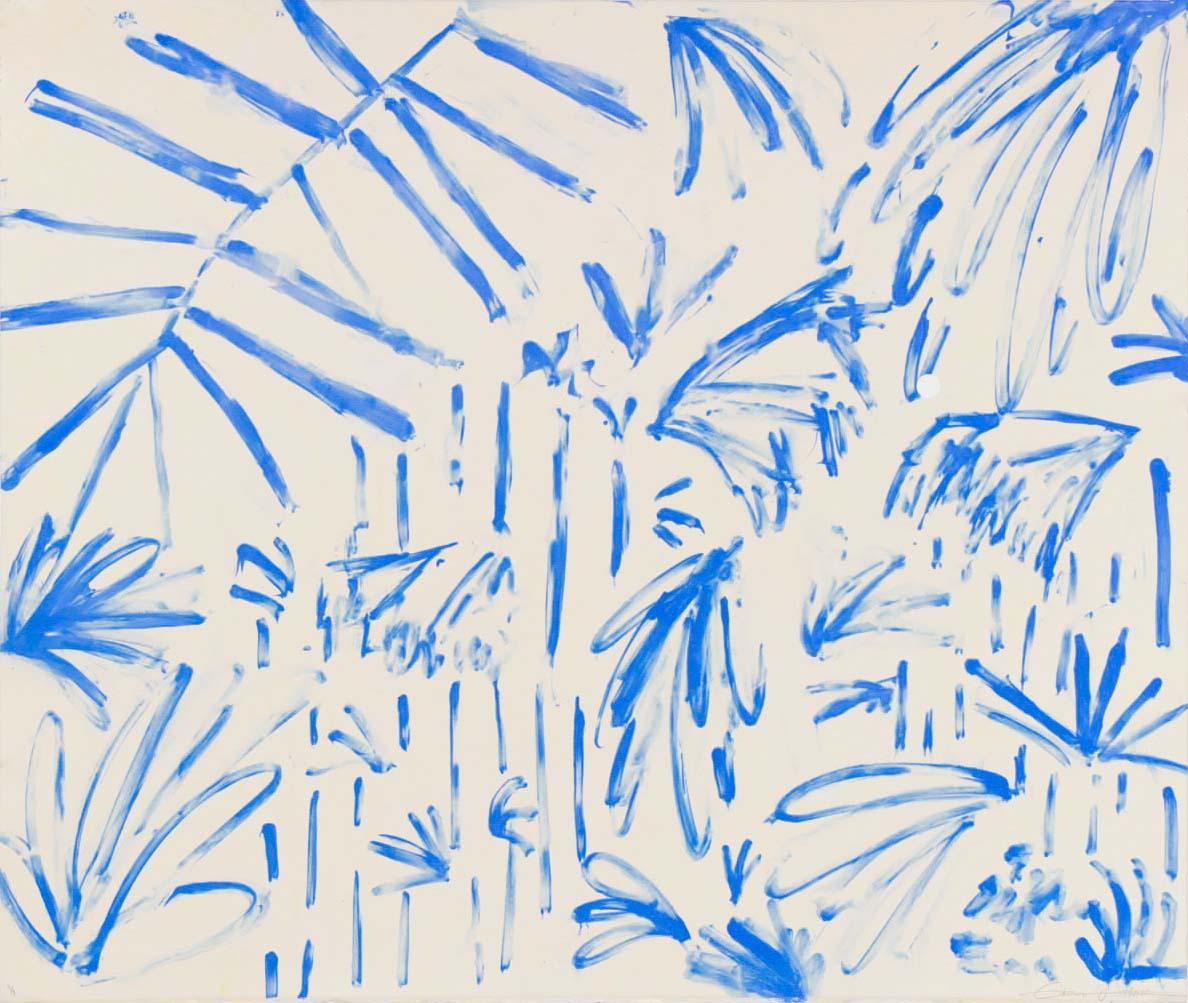 Hang Tough Blue Drips II