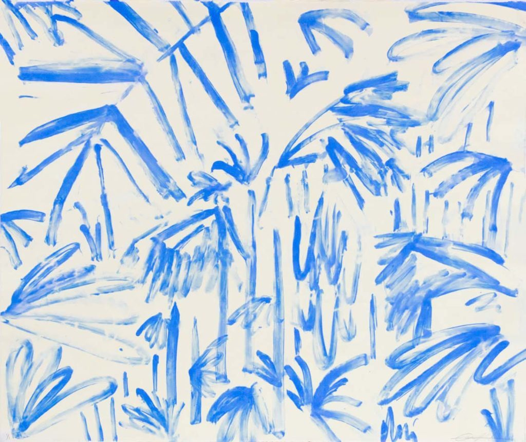 Blue Drips III
