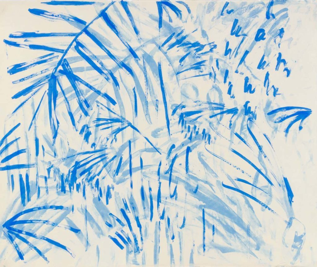 Blue Drips IV