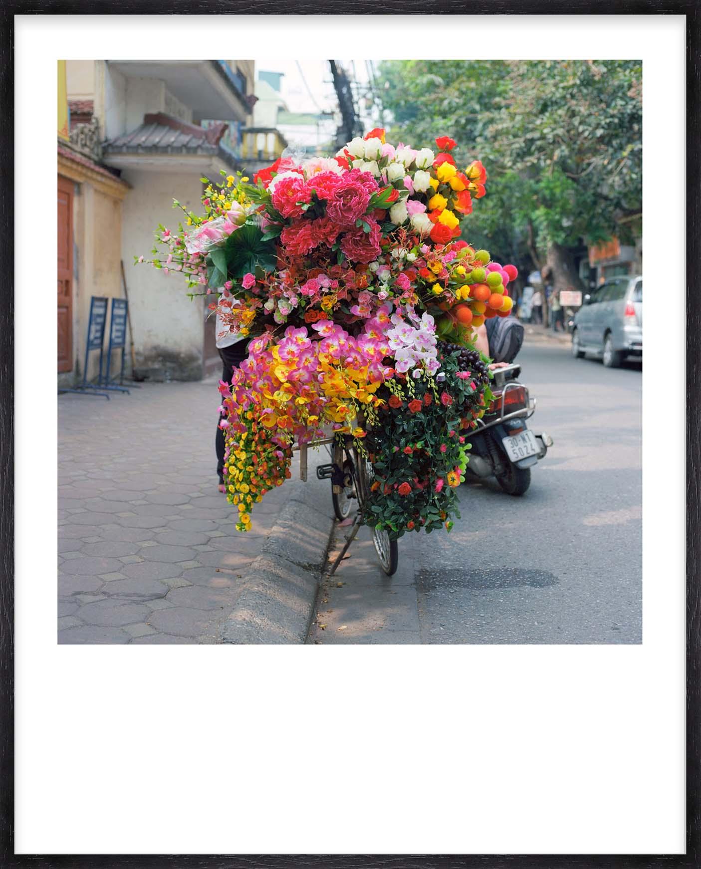 Hang Tough 'Hanoi' Slip Mounted in Black (Framing Only)