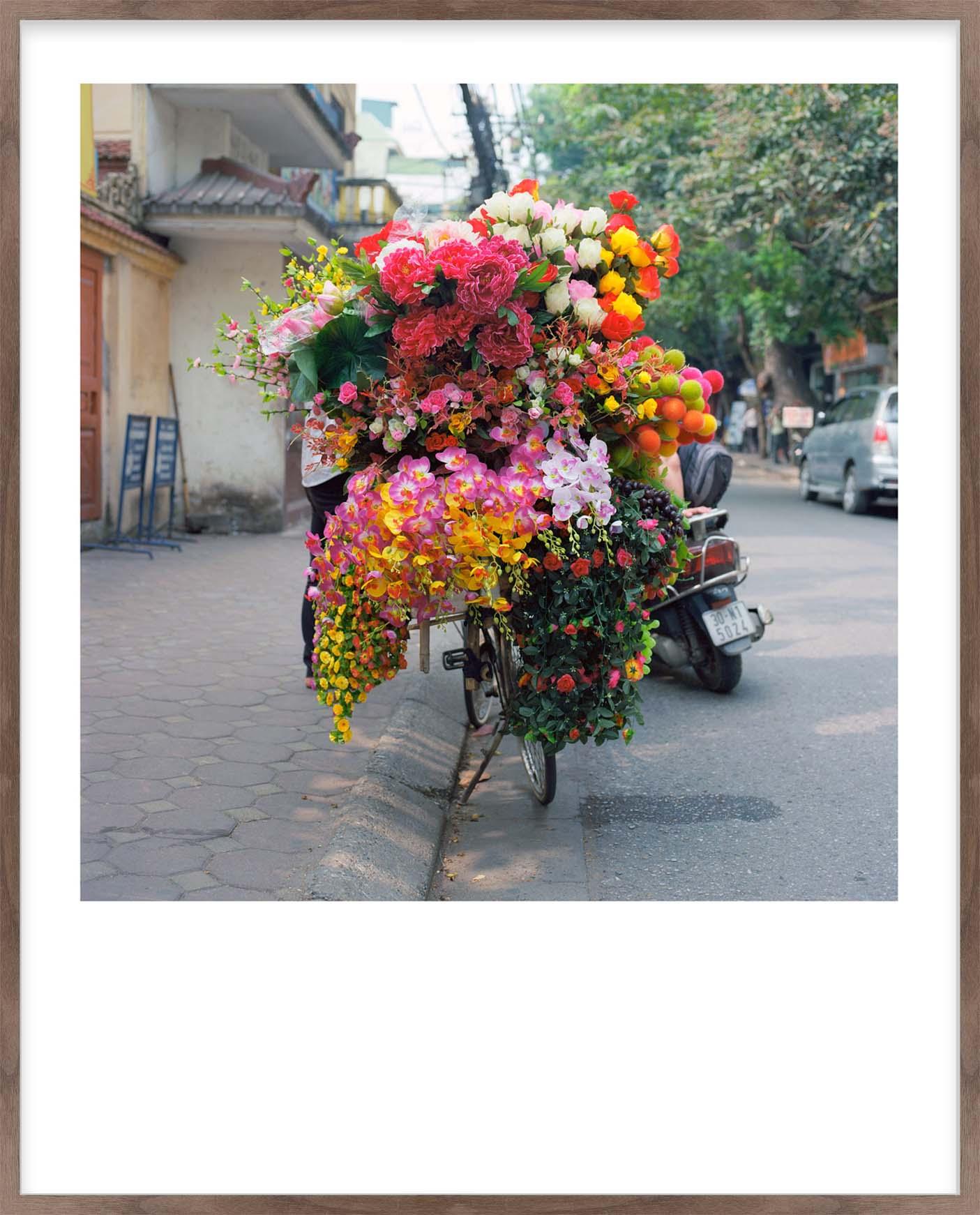 Hang Tough 'Hanoi' Slip Mounted in Walnut (Framing Only)